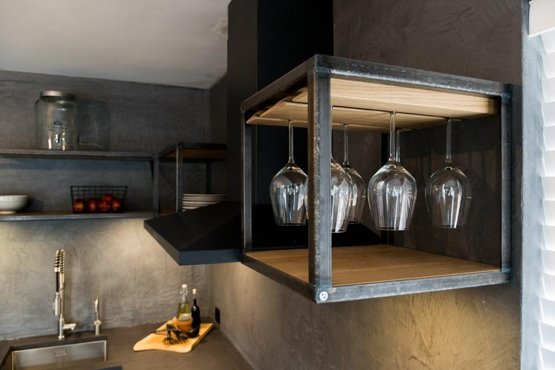 Keuken: modern industrieel t kroonhuys
